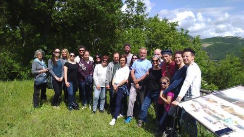 Partecipanti corsi Aspin 2018 a Pieve del Colle Urbania e Fermignano