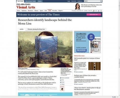The Times Novembre 2012